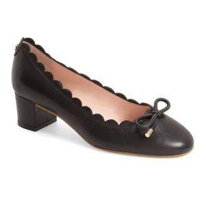 Kate Spade Yasmin Scalloped Low Heel Pumps 5.5